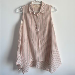 Anthropologie Isabella Sinclair Stripe Tunic